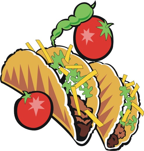 Tacos clipart soft taco Tacos clipart Illustrations Stock and