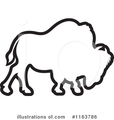 Buffalo clipart Buffalo Outline Clipart #1163786 Free Illustration Clipart by