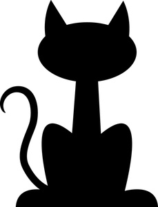 Black Cat clipart cat sitting And Free dog%20and%20cat%20silhouette%20clip%20art%20free Panda Free