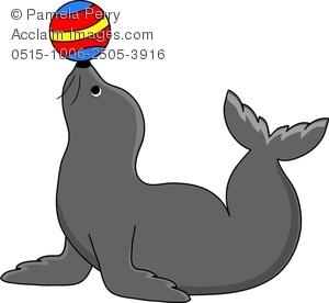 Seal clipart circus show #15