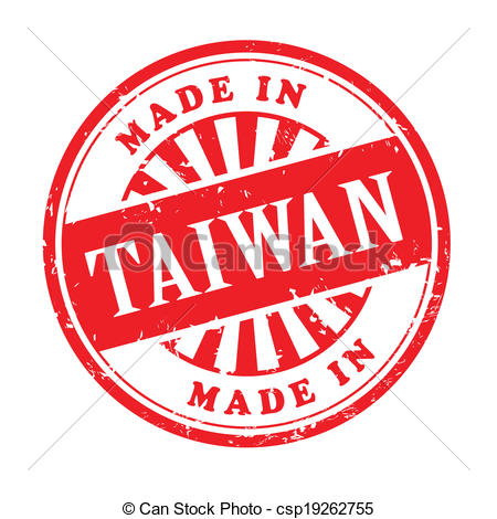 Taiwan clipart Rubber Clipart made in stamp