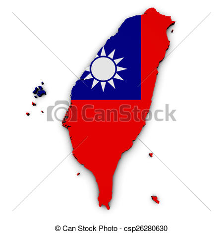 Taiwan clipart Taiwan Map Clipart Map  Shape Taiwan