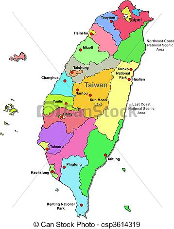 Taiwan clipart Taiwan Map Clipart Map Taiwan Clipart  over