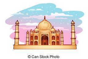 Taj Mahal clipart abstract Of Illustration Taj mahal