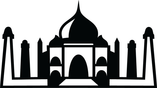 Taj Mahal clipart blue mosque Clip Clip Mahal Products Taj