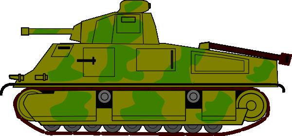 Army clipart war tank #1