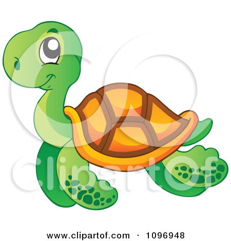 Sea Turtle clipart turtle swimming #13