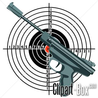 Target clipart air rifle #4
