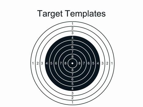 Target clipart air rifle #7