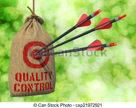 Target clipart control Quality of Quality in Control