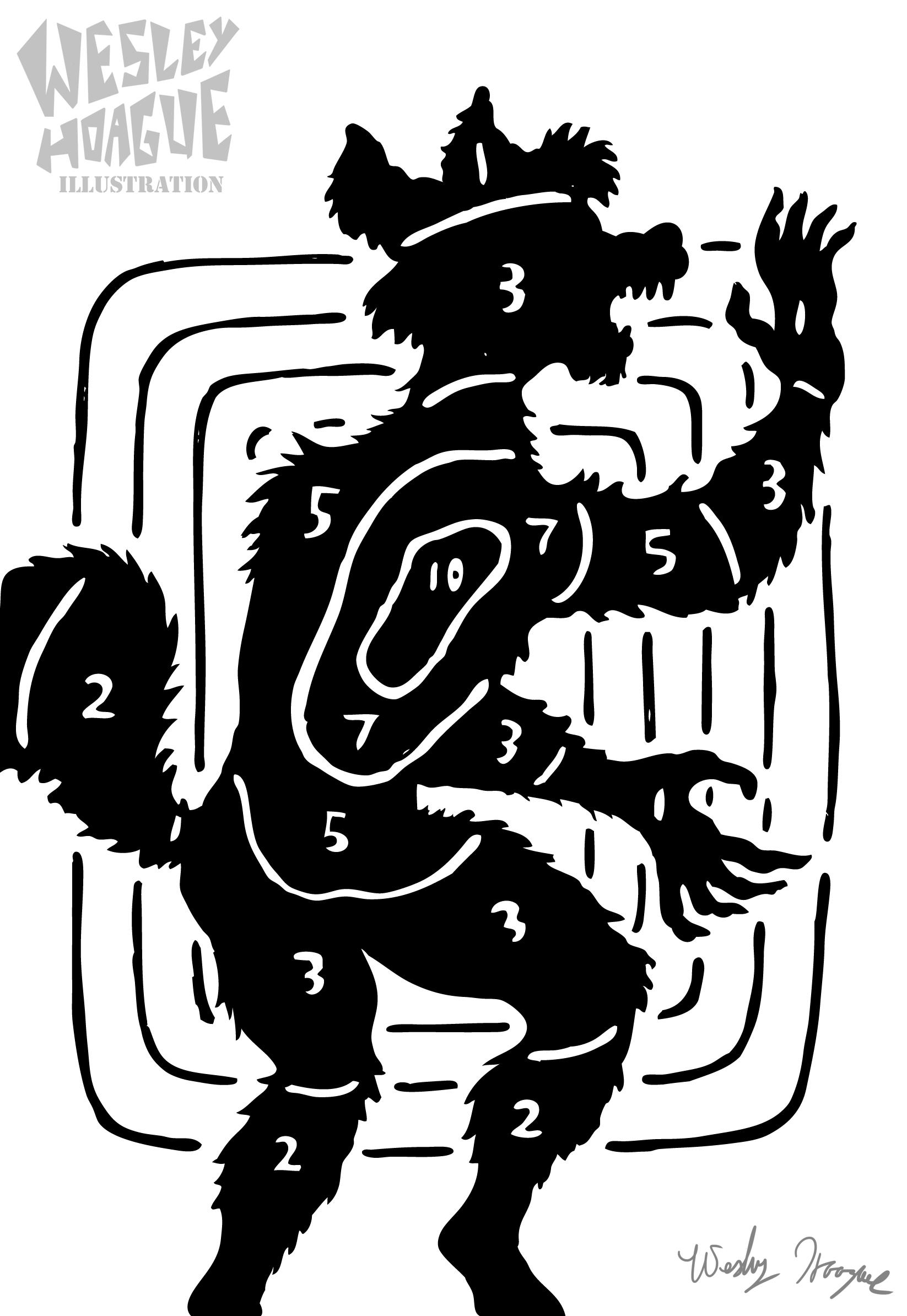 Target clipart critique Werewolf Target The — Weasyl