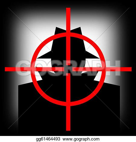 Target clipart gun sight Man gg61464493 hijacker Stock avatar