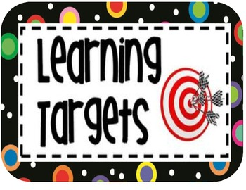 Target clipart learning #11