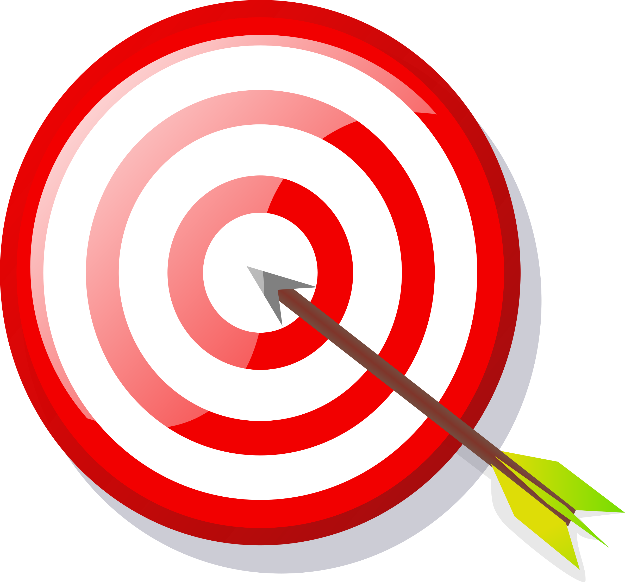 Colouful clipart target #3