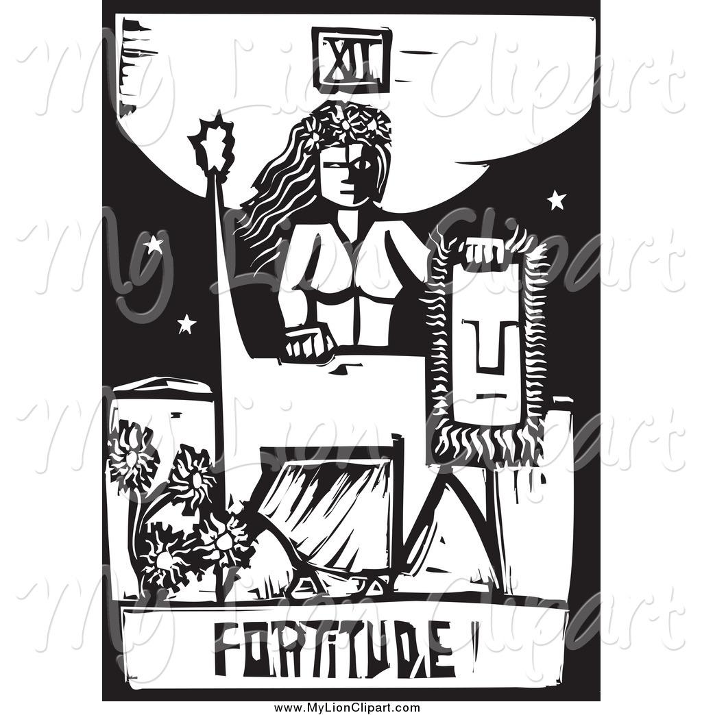 Tarotcards clipart tarot reading Clip black Art cards Woodcut