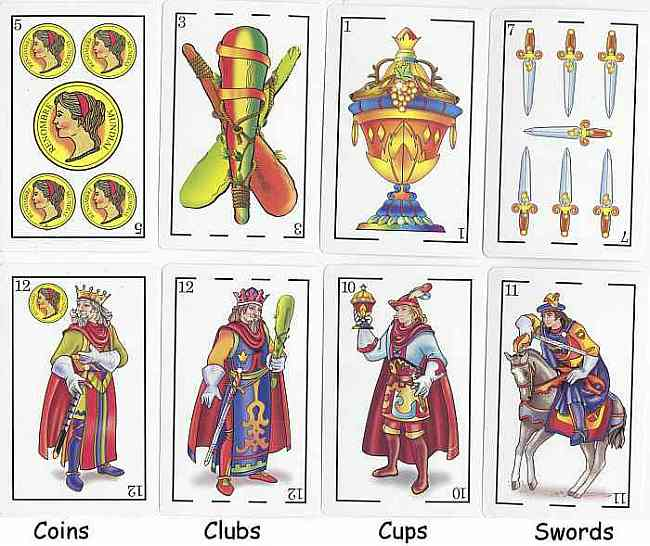 Tarot Cards clipart blank Spanish Card & Playing Products: