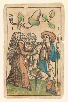 Tarot Cards clipart card game 1 Schäufelein Cards of of
