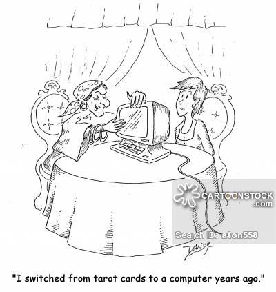 Tarot Cards clipart cartoon A funny to ago Comics