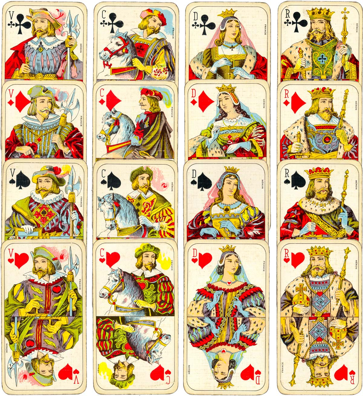 Tarot Cards clipart classic Cards the of French The