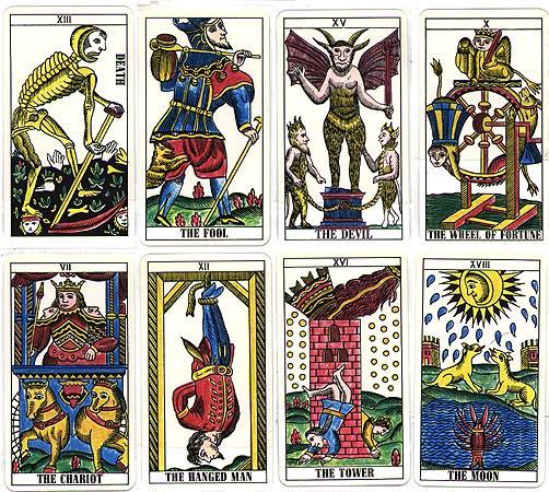 Tarot Cards clipart classic  Classic Tarot