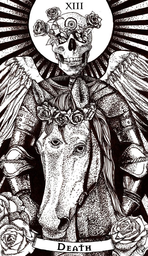 Tarot Cards clipart death Pin best Card images on