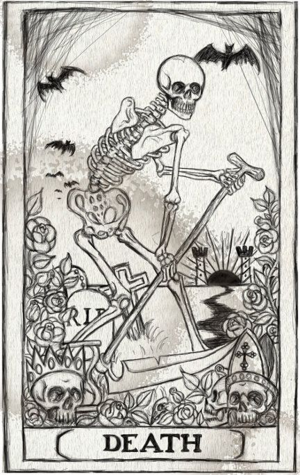 Tarot Cards clipart death Tarot Dead old best about