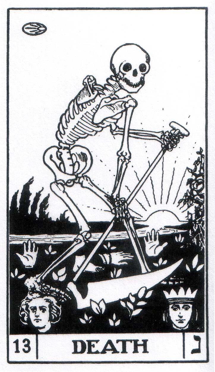 Tarot Cards clipart death Of Tarot) best Cards images