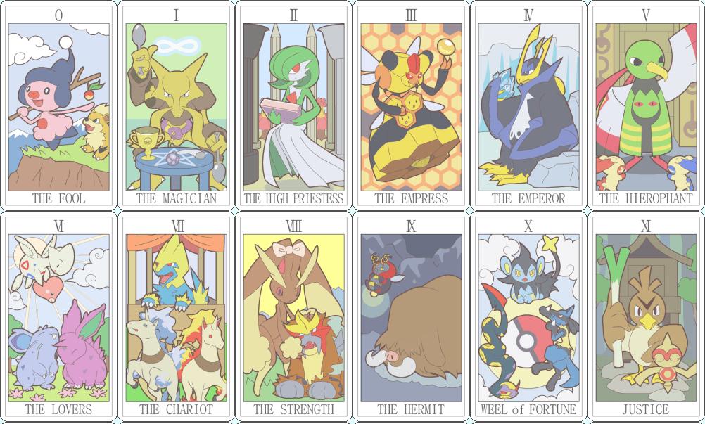 Tarot Cards clipart modern Pokemon Game Gamerwife Tarot Tarot