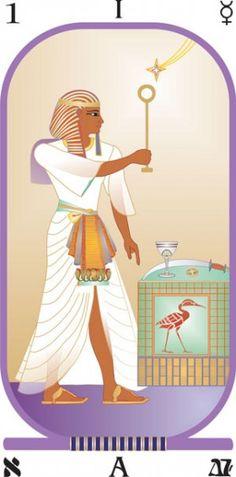 Tarot Cards clipart modern Brotherhood Tarot  Egyptian the