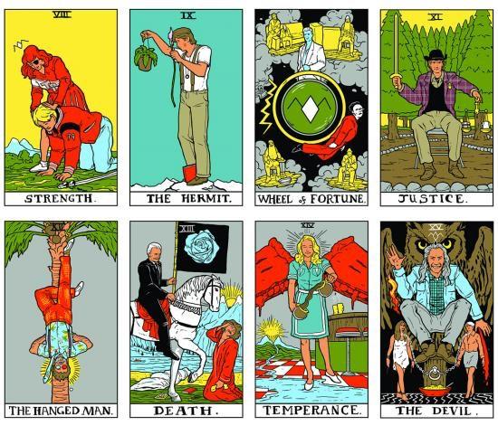Tarot Cards clipart modern Untitled tarot / cards Twin