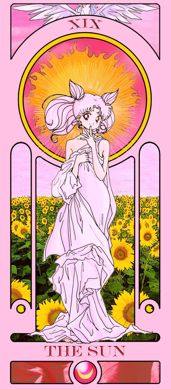 Tarotcards clipart sun and moon Cards Mary Sue Sailor The