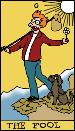 Tarot Cards clipart person TAROT Blog FOX — LITTLE