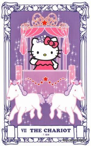 Tarot Cards clipart pink Tarot chariot on Pinterest best