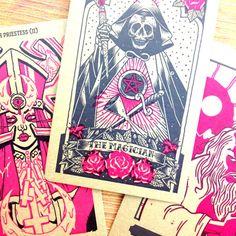 Tarot Cards clipart pink Fortune Artisan featuring Year Tarot