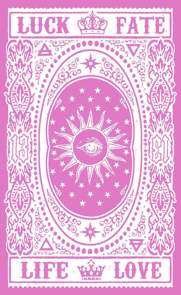 Tarot Cards clipart pink Tarot on Tarot cards ideas