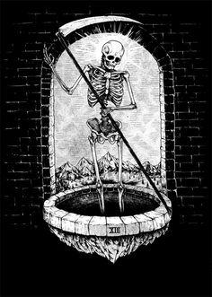Tarotcards clipart skeleton Tumblr Cards Art of to