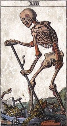 Tarotcards clipart skeleton Card Cards Art of to