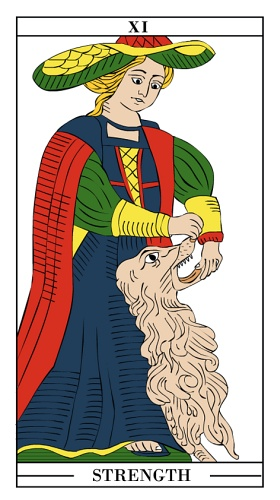 Tarotcards clipart strength Tarot of Fortune card Tarot