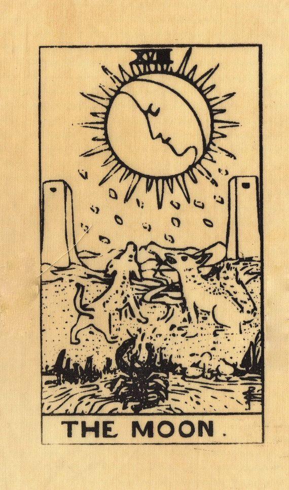 Tarotcards clipart sun and moon Ideas  25+ Vintage tarot