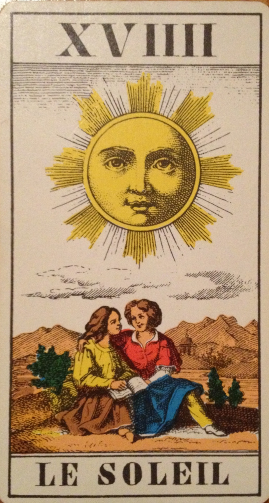 Tarotcards clipart sun and moon Means you: the www what