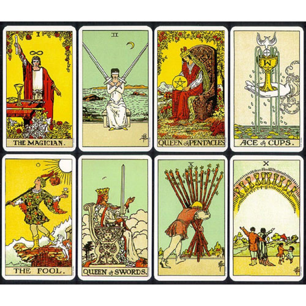Tarot clipart deck card Tarot Waite Magician Rider Cards