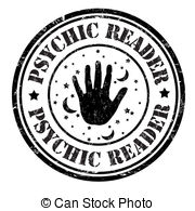 Tarot clipart psychic Stamp royalty grunge