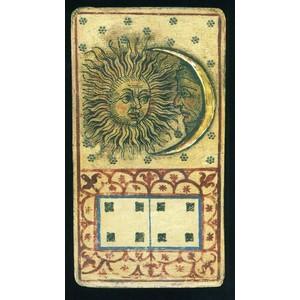 Tarotcards clipart sun and moon Moon Card Tarot Sun and