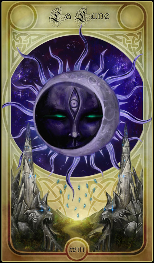 Tarotcards clipart sun and moon Is art This I my