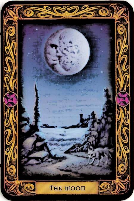 Tarotcards clipart sun and moon Arcana Card Tarot The The