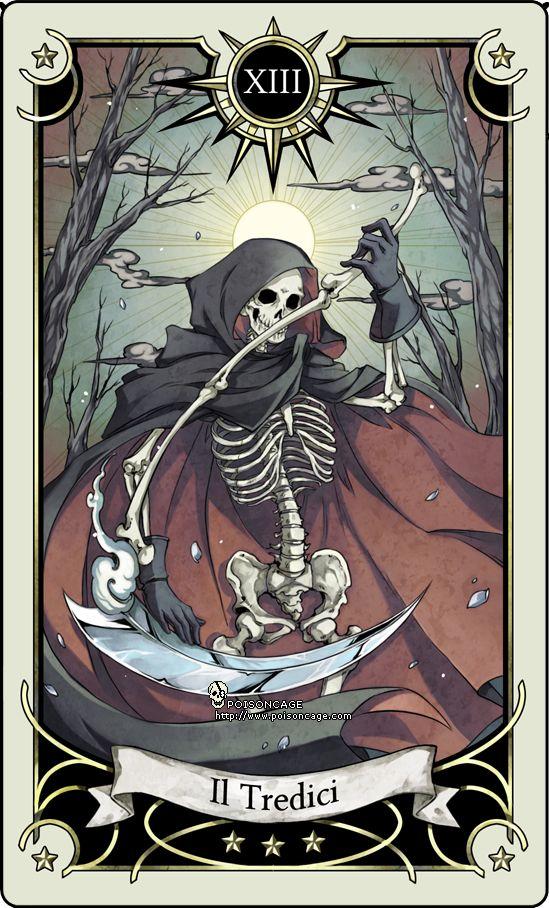 Tarotcards clipart texas holdem By rann poisoncage com Death