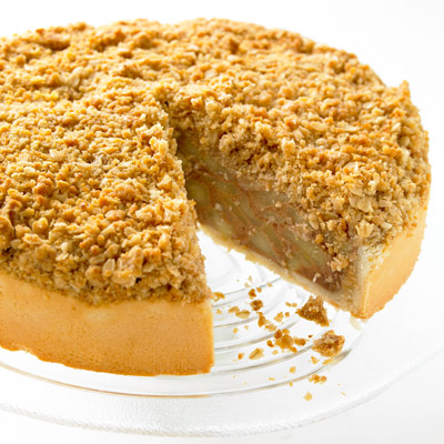 Tart clipart apple crumble Crumble Patisserie Apple French The
