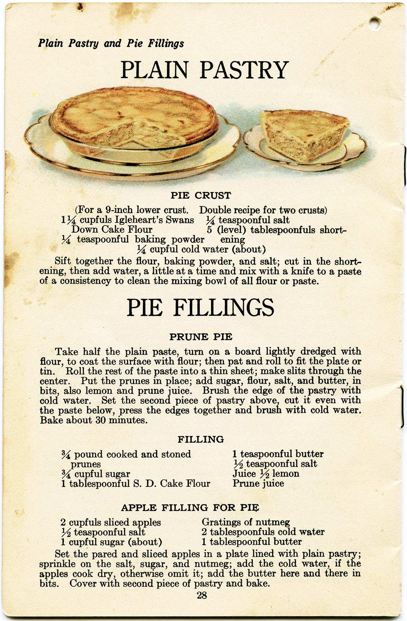 Pie clipart recipe Clip old art fashioned domain