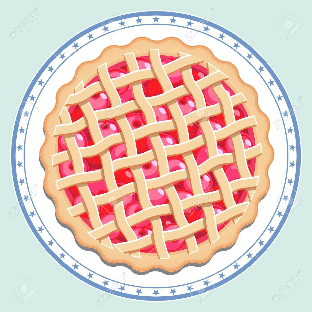 Pies clipart top view Cliparts clipart Cliparts Apple tart