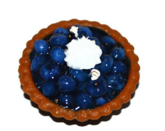 Pie clipart blue berry Etsy Candle Candle Scented Candle